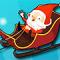 Crazy Santa Racer Icon