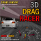 3D Drag Racer Icon