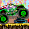 Monster Truck Zombie Crusher Icon
