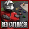 Red Kart Racer Icon