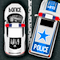 Police Station Parking Icon