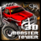 3D Monster Truck Tower Icon