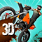 Dirt Bike 3D Icon