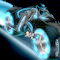 TRON Lightcycle Icon