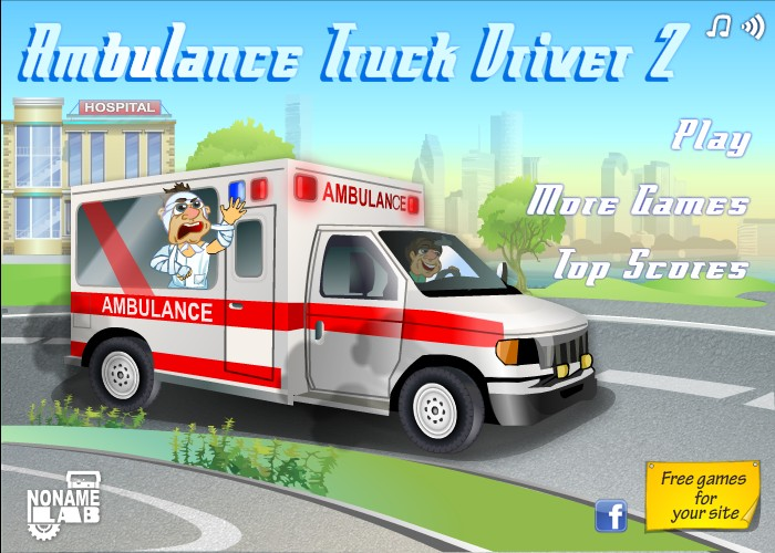Ambulance Truck Driver 2 Funny Car Games