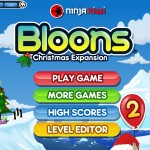 Bloons 2 Christmas Expansion Screenshot