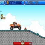 Orange Motorbike Racing Screenshot