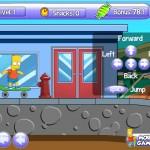 Bart Boarding 2 Screenshot