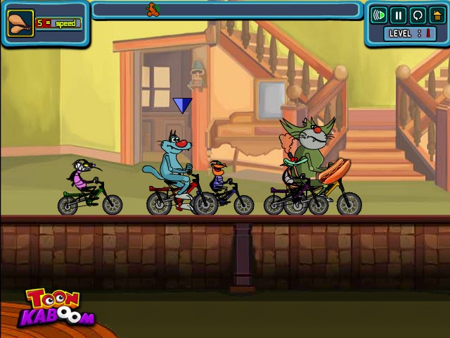 oggy and jack games online play