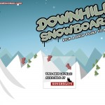 Downhill Snowboard Screenshot