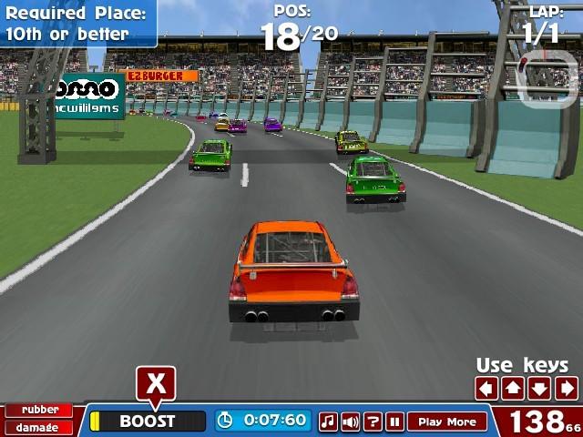 American Formula Car Racing Games Online