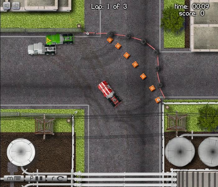 industrial truck racing funny car games