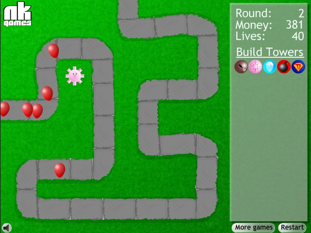 bloons tower defense free online bloons game