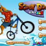 Scooby Doo Beach BMX Screenshot