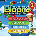 Bloons 2: Christmas Pack Screenshot