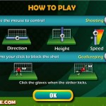 Penalty Shootout 2012 Screenshot