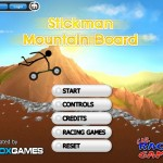 Stickman Mountain Board Screenshot