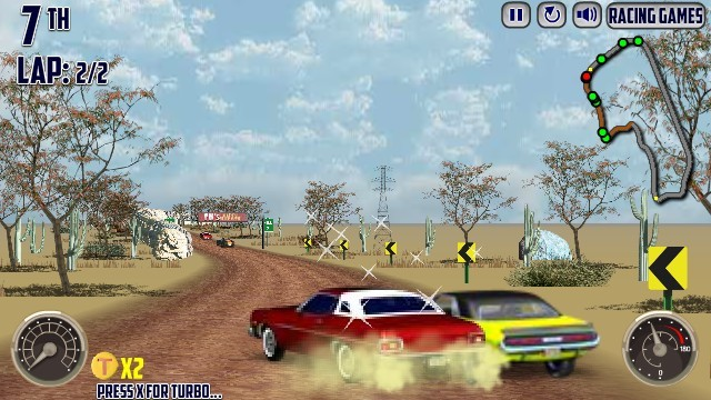 v8 muscle cars funny car games