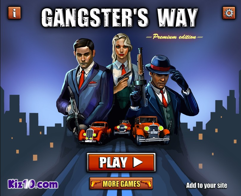 Cars That Start With G >> Gangster's Way - Funny Car Games