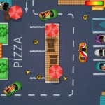 Pizza Delivery Parking Screenshot