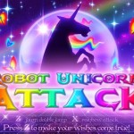 Robot Unicorn Attack Screenshot