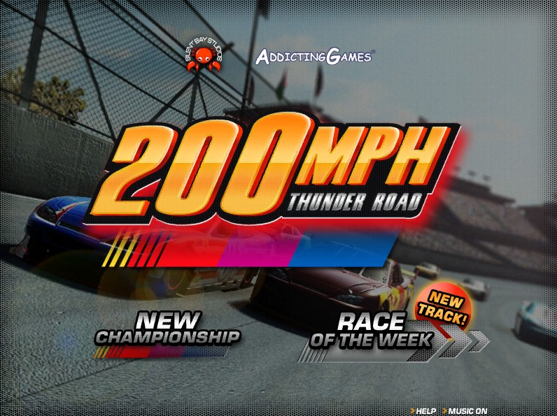Buy Tires Online >> 200 MPH: Thunder Road - Funny Car Games