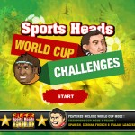 Sports Heads: World Cup Challenges Screenshot