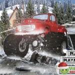 Heavy Wheels On Snow Screenshot