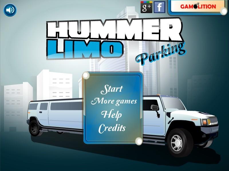 Hummer Limo pysäköinti pelit