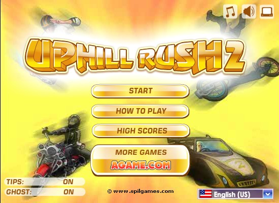 Uphill Rush Game Funny Car Games