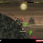 Pumpkin Head Rider 2 Screenshot