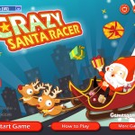 Crazy Santa Racer Screenshot