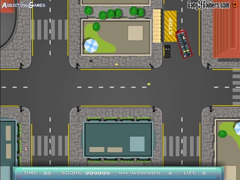 free bus parking games