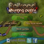 Railroad Shunting Puzzle Screenshot