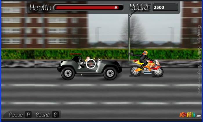 koffii roadster funny car games