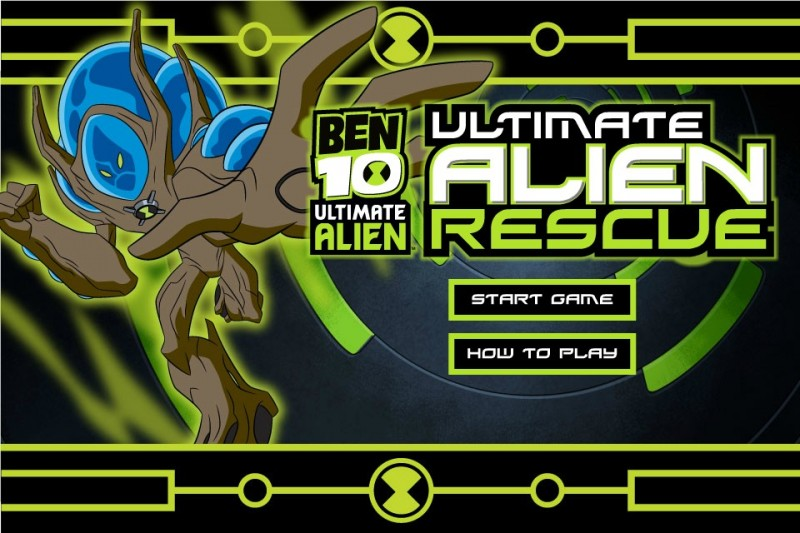 Car Driving Games >> Ben 10: Ultimate Alien Rescue - Funny Car Games