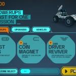 LYNX Lunar Racer Screenshot