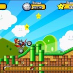 Mario Motocross Mania 2 Screenshot