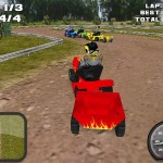 Lawnmower Racing 3D Screenshot