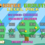 Orange Gravity: Level Pack Screenshot