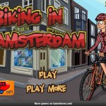 Biking in Amsterdam Screenshot