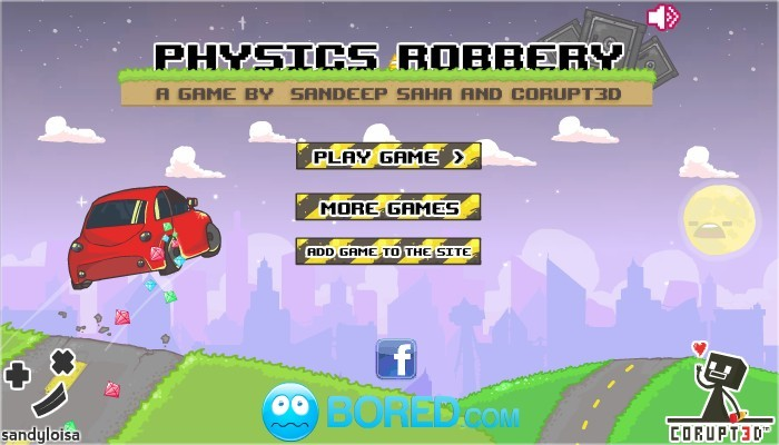 Physics Robbery Funny Car Games
