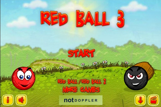 Red Ball 3 Funny Car Games