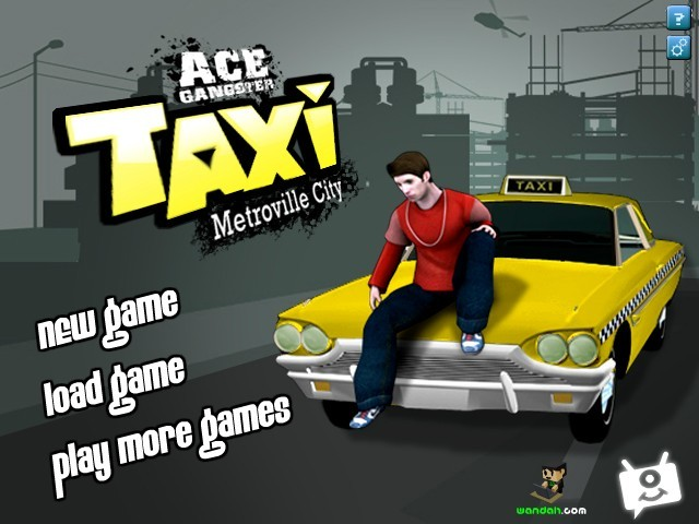 Gangster Ace Taxi Metroville City Funny Car Games