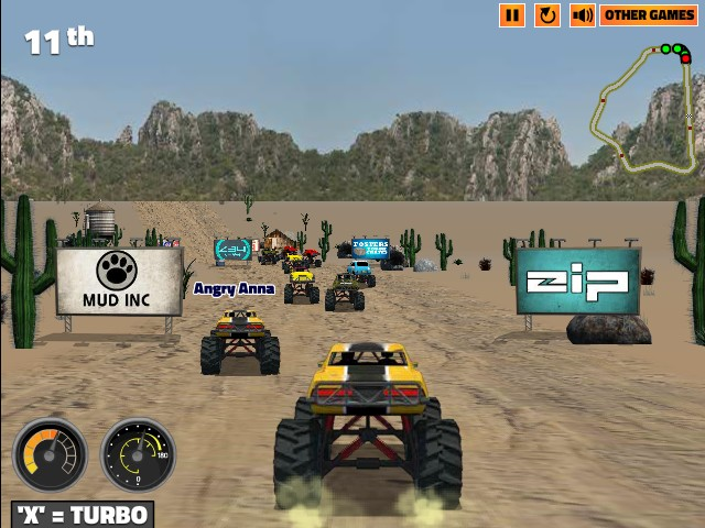 free online games monster truck