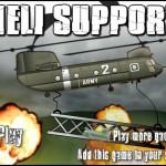 Heli Support Screenshot