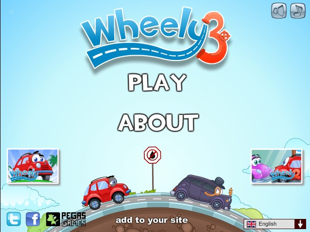 Wheely 3 Funny Car Games