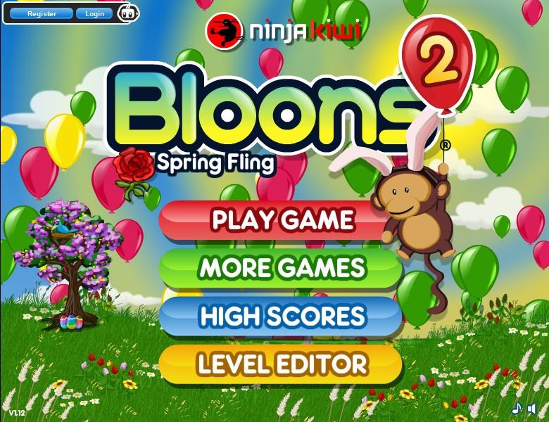 Bloons 2: Spring Fling - Funny Car Games