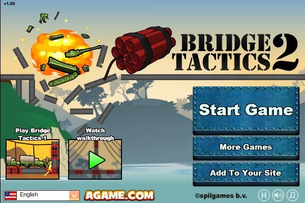 Truck parking games online - Bridge Tactics 2 Funny Car Games