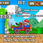 Super Mario Truck Screenshot